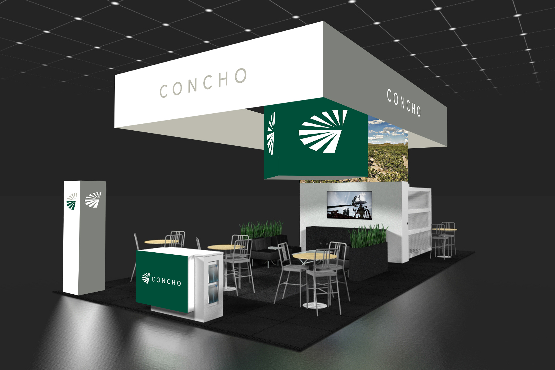 Concho Resources Branding Squires Company